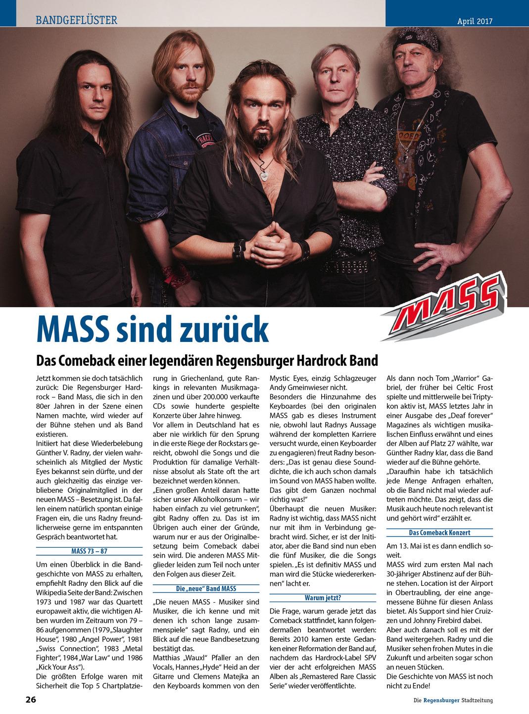Regensburger Stadtmagazin 04.04.2017